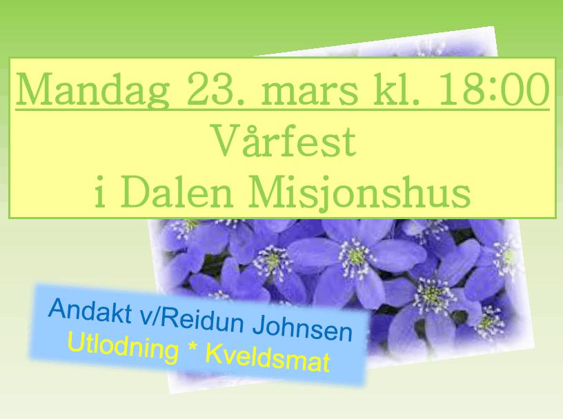 Vårfest
