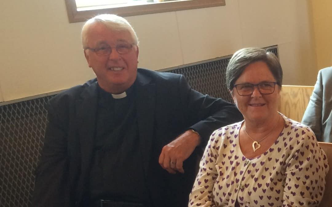 Pastor Michael Davey pensjonist