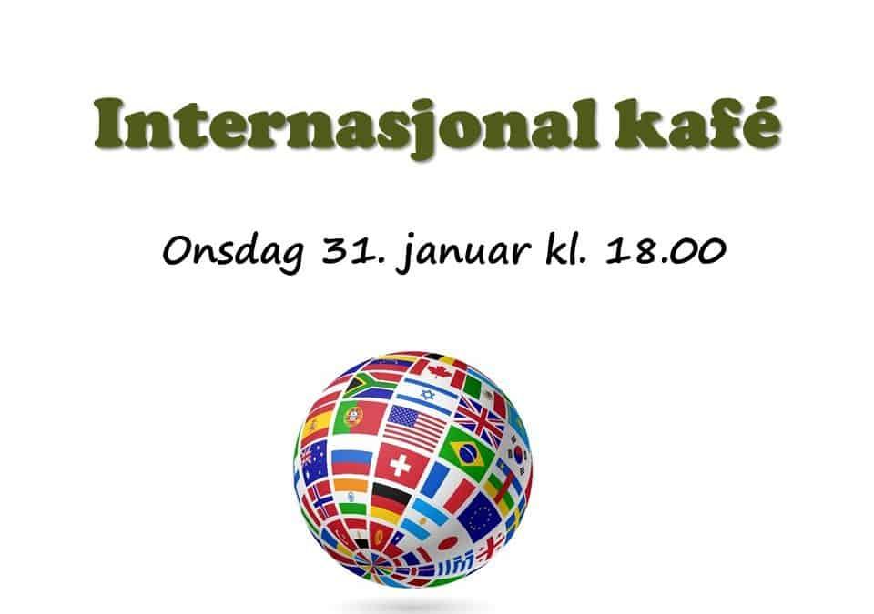 Velkommen til Internasjonal kafé