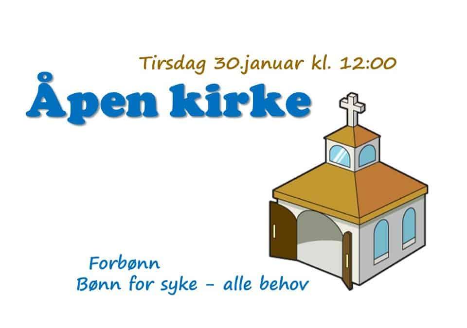 Velkommen til Åpen kirke