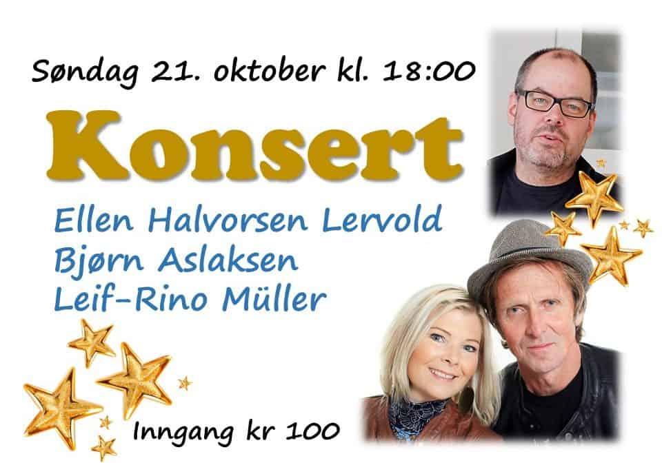 Velkommen til konsert!