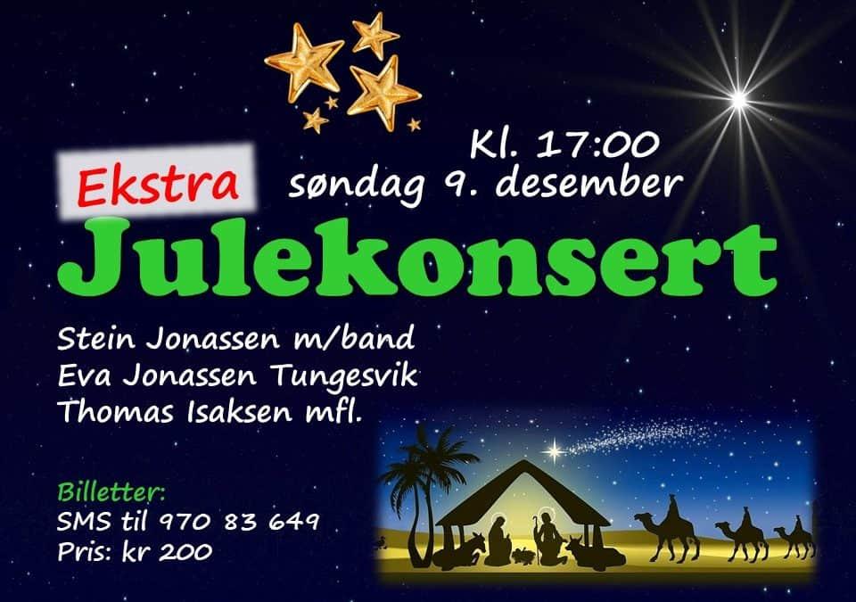 Ekstra julekonsert kl. 17:00