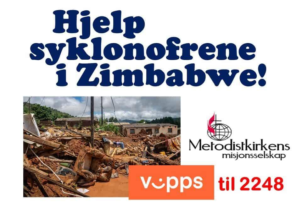 Hjelp syklonofrene i Zimbabwe!
