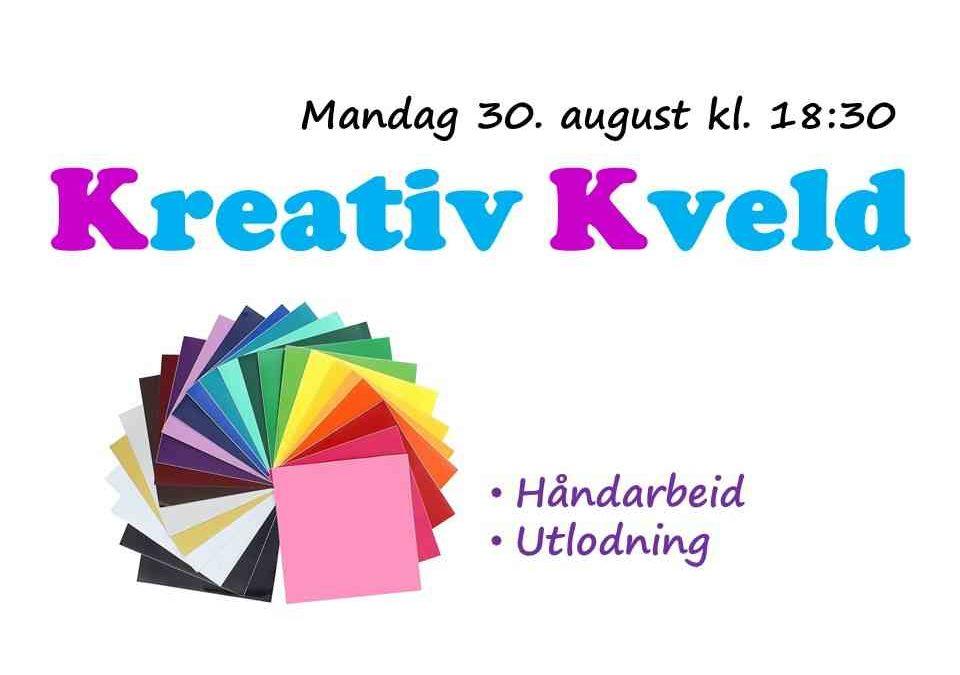 Velkommen til Kreativ Kveld!